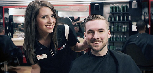 Sport Clips Haircuts of Westminster - Decatur​ stylist hair cut